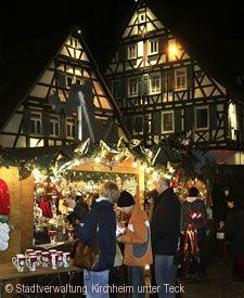 Kirchheimer Weihnachtsmarkt Kirchheim unter Teck