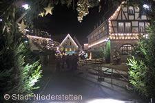 Märchenhafter Weihnachtsmarkt Niederstetten am 08.12.2017 bis 10.12.2017