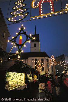 Bodensee Weihnacht Friedrichshafen am Bodensee