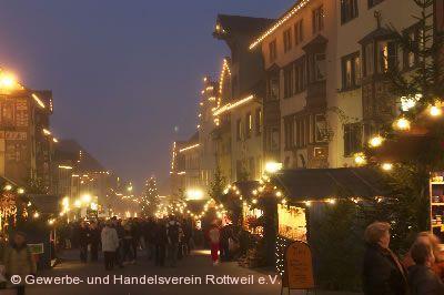 25. Weihnachtsmarkt Rottweil