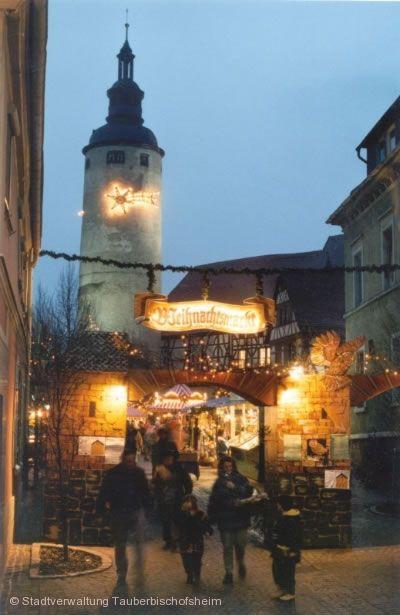Weihnachtsmarkt Tauberbischofsheim