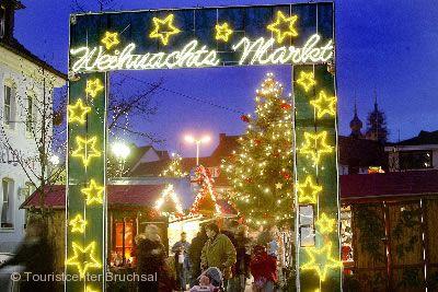 Weihnachtsmarkt Bruchsal