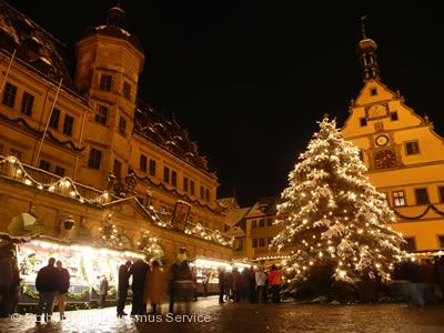 Alt-Rothenburger Weihnacht-Reiterlesmarkt Rothenburg ob der Tauber