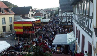 Weinblütenfest Königheim