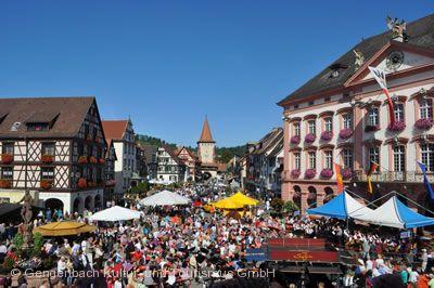 Traditionelles Wein- und Stadtfest Gengenbach