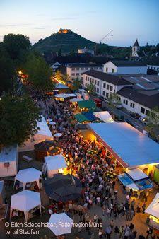 Markgräfler Weinfest Staufen im Breisgau