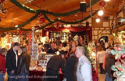 Schussenrieder Advents- und Kunstmarkt Bad Schussenried