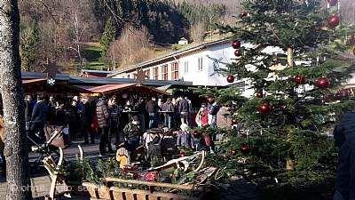 Weihnachtszauber am Kurpark Elzach
