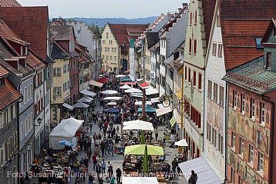 Altstadtflohmarkt Wangen im Allgäu am 25.04.2020