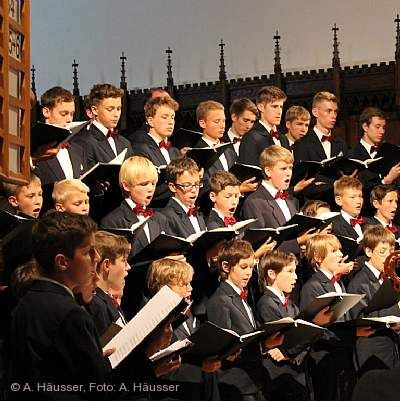 Konzert der Aurelius Sängerknaben Calw