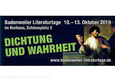 Badenweiler Literaturtage 2019
