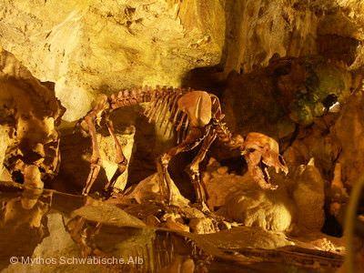 """Illumination """"World-of-Lights"""" in der Bärenhöhle Sonnenbühl"""
