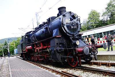 Großes Bahnhofsfest Bad Herrenalb
