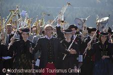 """Hochschwarzwälder """"Blosmusik Feschtival"""" Häusern"""