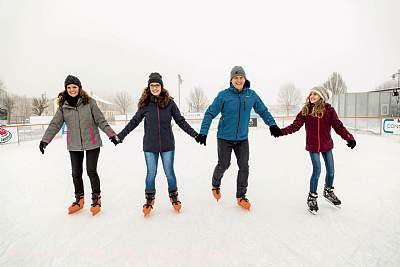 Blumberg on Ice - Eisbahn Blumberg