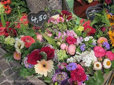Blumenmarkt Mosbach am 02.05.2020