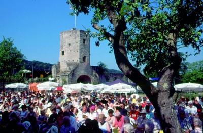 Brass in the Ruins - das einzigartige Blechbläserfestival Forchtenberg