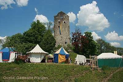 Mittelalterliches Burgspektakel Neuravensburg Wangen im Allgäu