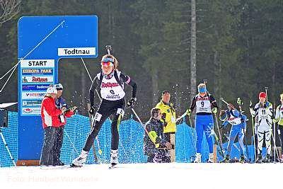 Deutschlandpokal Biathlon Todtnau