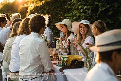 Dîner en blanc Radolfzell am Bodensee am 15.08.2020