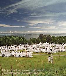 Dîner en blanc 750 Radolfzell am Bodensee
