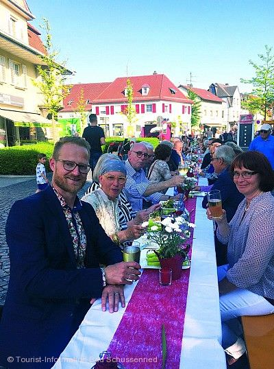 Dinnertafel Bad Schussenried am 13.06.2020