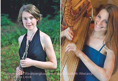 Liedmatinee im Ochsensaal: Oboe und Harfe - Englische Zwiegespräche Rechberghausen