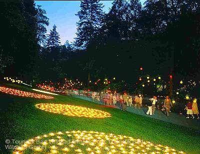 Sommerfest im Kurpark und Enzanlagen-Beleuchtung Bad Wildbad