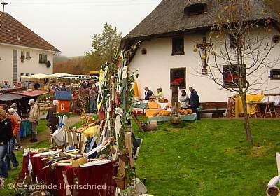 Erntemarkt beim Klausenhof Herrischried