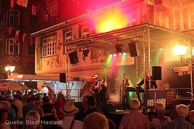 Europäische Nacht und Straßenkünstlerfestival Haslach im Kinzigtal