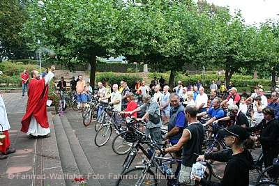 Fahrrad-Wallfahrt Walldürn