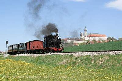 Fahrten mit der Härtsfeld-Museumsbahn Neresheim
