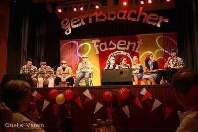 Fasentsitzung Gernsbach