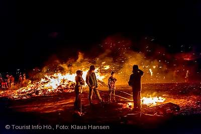 Fasnachtsfeuer und Scheibenschlagen Höchenschwand