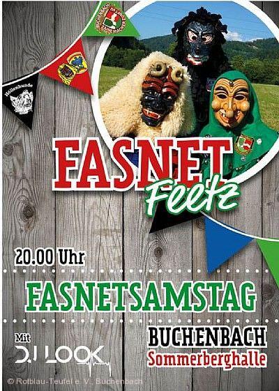 Fasnet-Feetz Buchenbach