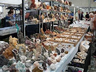 Festival der Kristalle - Wolfacher Mineralienbörse