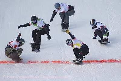 FIS Snowboard Cross Weltcup am Feldberg! Feldberg im Schwarzwald