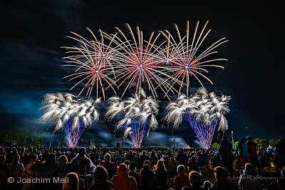 """Flammende Sterne Ostfildern"" - Internationales Feuerwerksfestival"