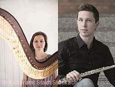 Meisterkonzert Flöte und Harfe Stockach