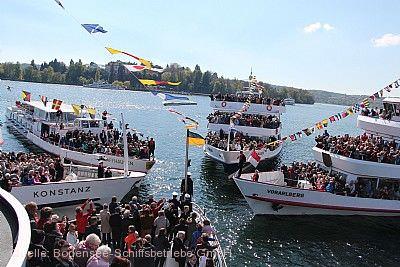Internationale Flottensternfahrt Konstanz am 25.04.2020