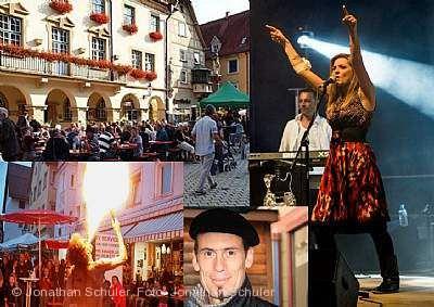 Französisches Fest / Markt Sigmaringen
