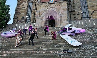 """Freilichtspiele Schwäbisch Hall auf der Großen Treppe vor St. Michael - """"Alles anders!"""""""