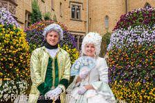 Frühlingserwachen zu Ostern Burg Hohenzollern