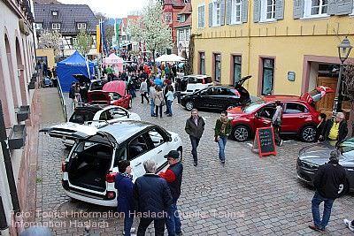 Frühlingsfest mit Autoschau Haslach im Kinzigtal