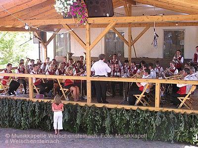 Dorffest Welschensteinach Steinach