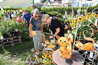 """11. Gartenmarkt """"Sommer - Blüten - Träume"""" Rechberghausen am 13.08.2021 bis 15.08.2021"""