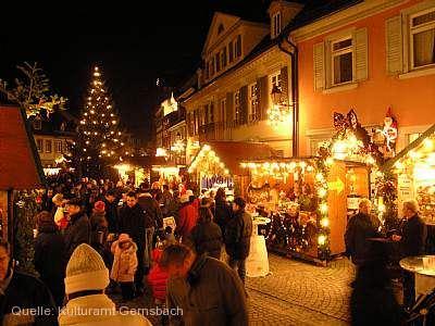 Weihnachtsmarkt Gernsbach
