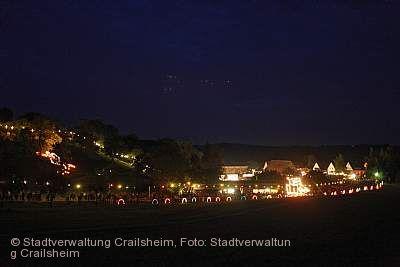 Goldbacher Lichterfest Crailsheim am 18.08.2019