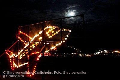 Goldbacher Lichterfest Crailsheim am 23.08.2020