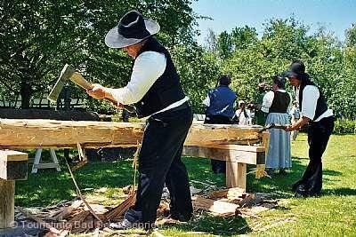 Großer historischer Handwerkertag im Museumsdorf Kürnbach Bad Schussenried